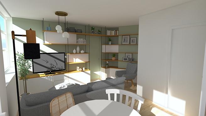 Rénovation complète T2 – La Garenne Colombes